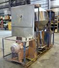 Used- Stainless Steel Gemco Double Cone Blender, 30 Cubic Feet Working Capacity