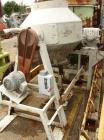 USED: 30 Cubic Foot Gemco double cone mixer, stainless steel. Shell measures 52
