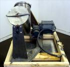 Used- Stainless Steel Patterson-Kelley Twin Shell Blender, Approximate 8 Quarts