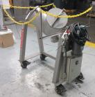 Used- Twin Shell V-Blender, Approximate 1 Cubic Feet Capacity. Stainless steel.