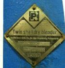 Used- Stainless Steel Patterson Kelley Twin Shell / V-Blender, 10 cubic foot capacity