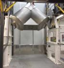 Used- Patterson-Kelley Twin Shell Blender, 75 Cubic Feet. Stainless steel construction, rated 60 pounds a cubic foot maximum...