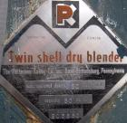 Used- Stainless Steel Patterson Kelley Twin Shell Blender, 60 cubic foot capacity