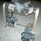 Used: Plexiglass Patterson Kelley 16 quart twin shell liquid solids blender,