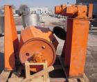 Used- Carbon Steel Patterson Industries Double Cone Blender, approximately 19 cubic feet