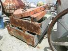 USED: Patterson Industries double cone blender, 135 cu ft working, 193 total. 304 stainless steel. 90