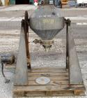 Used- Stainless Steel Paul O Abbe Rota Cone Blender, 2.5 Cubic Feet Working Capacity, 3.9 Total