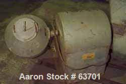 Used- U.S. Stoneware Lab Mixer Consisting Of: (1) Double cone blender, approximate .5 cubic foot, 304 stainless steel.Approx...