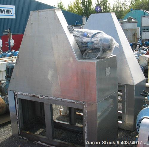 Used-Winkworth Machinery Ltd Double Cone Blender, type DC850