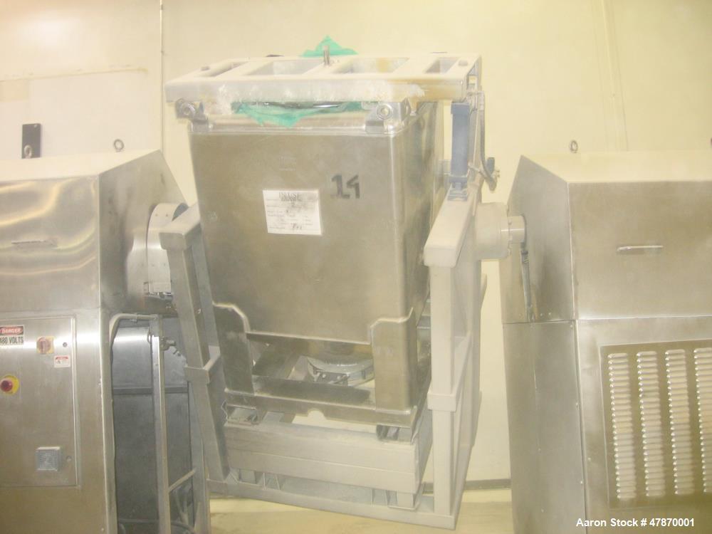 Used- Tote Kinetics Tumbler/Blender Assembly. 30 HP. Last used in powdered food manufacturing application. Mfg. 2005. Last u...