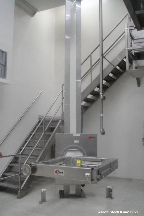 Used- Stainless Steel Glatt Tote Bin Blender, Model CM600Se