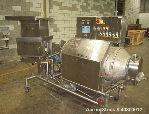 "Used- Heavy Duty Products Seasoning System, Model OMS99, Consisting Of: (1) Acrison feeder, model 610 approximately 1 1/2"" d..."