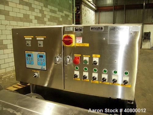 """Used- Heavy Duty Products Seasoning System, Model OMS99, Consisting Of: (1) Acrison feeder, model 610 approximately 1 1/2"""" d..."""