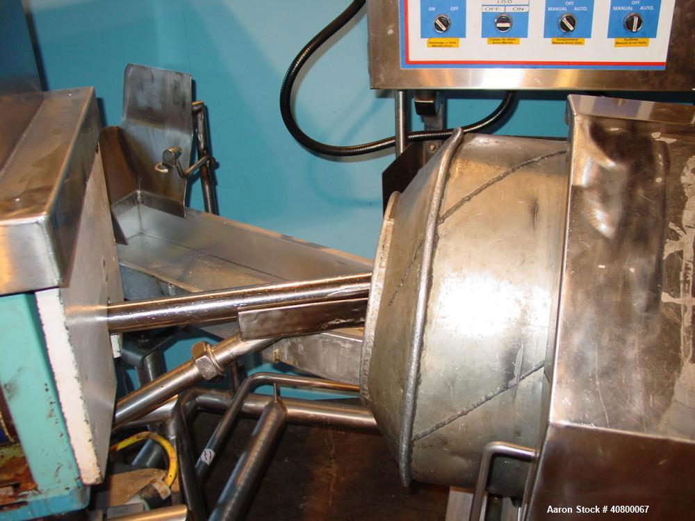 "Used- Heavy Duty Products Seasoning System, model OMS99, consisting of: (1) Acrison feeder, model 610, approximately 1-1/2"" ..."
