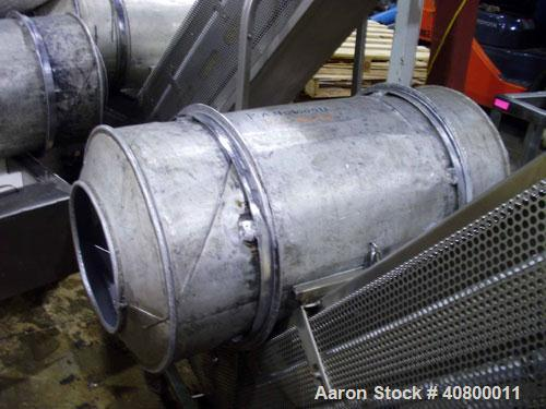 "Used- Heavy Duty Products Seasoning System, Consisting Of: (1) Acrison feeder, approximately 1 1/2"" diameter x 42"" long stai..."