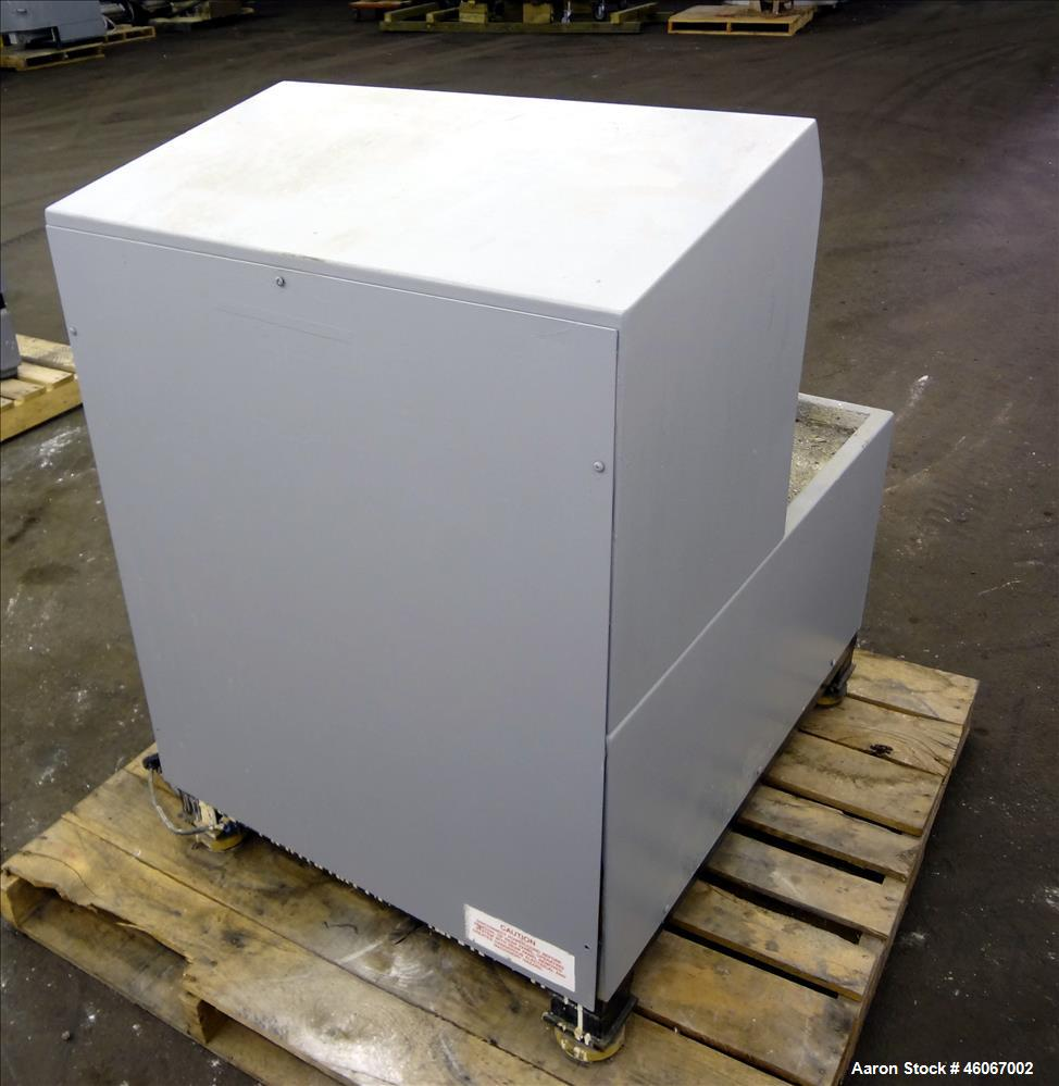 Used- Hero Ultrablend XHD Paint Shaker. Load Capacity 125 pounds, 5 gallon capacity. Driven by an approximate 1/4hp, 1/60/11...