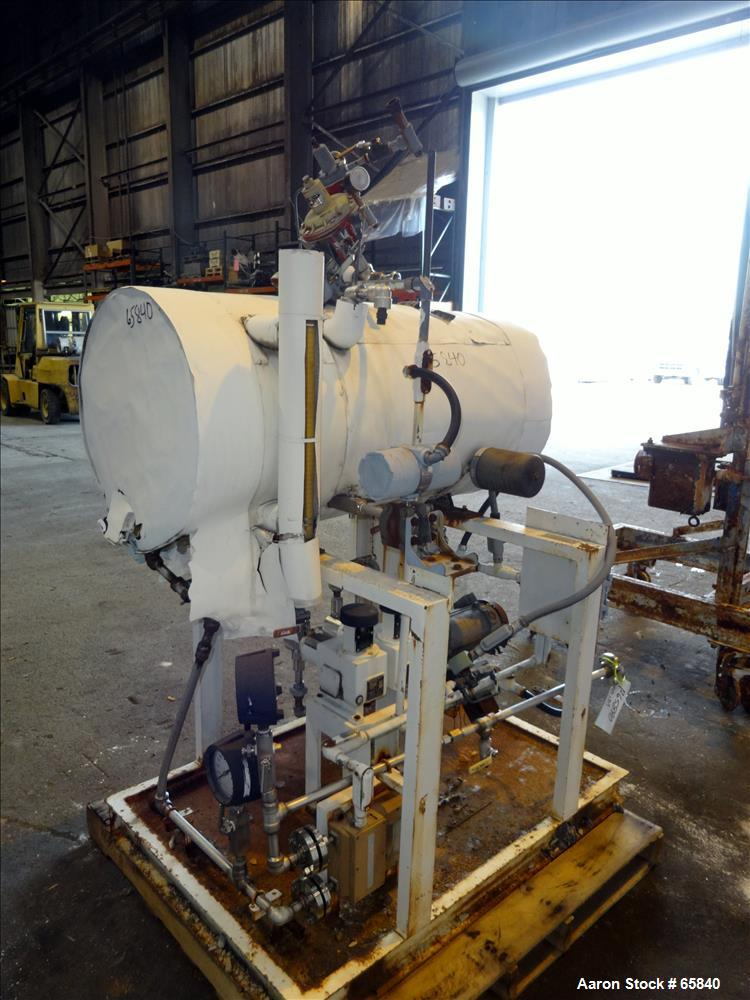 Used- Stainless Steel Atlantic Research Helicone Mixer, Model 65CV, 6 to 65 Gall