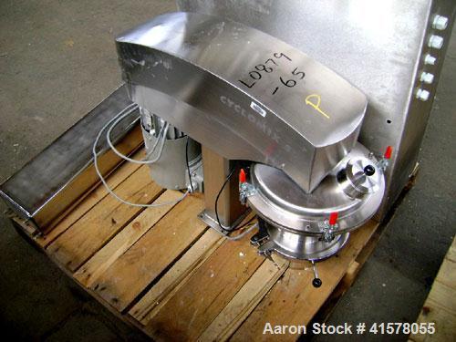 Used- Hosokawa Cyclomix High Shear Conical Mixer, Model 5, Stainless Steel. 5 liter total capacity, filling range 1.5-5 lite...