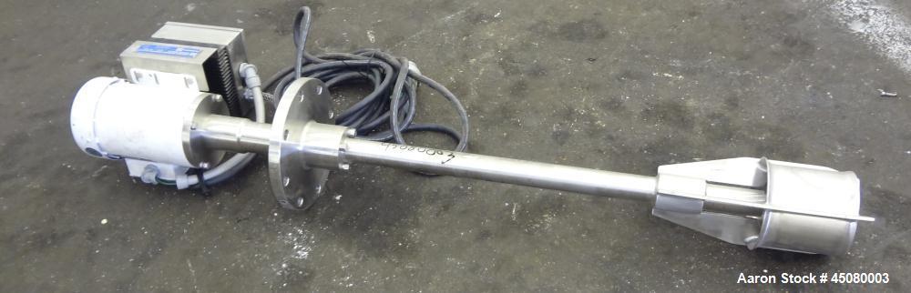 Used- Stainless Steel Quadro Y Jet High Speed Disperser, Model Y2