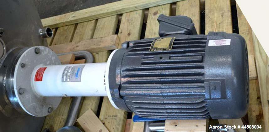 Used-Admix Rotosolver high shear disperser / dissolver, model 132RS133, serial #18737, built 2004.  Driven by a 10 hp, 3/60/...