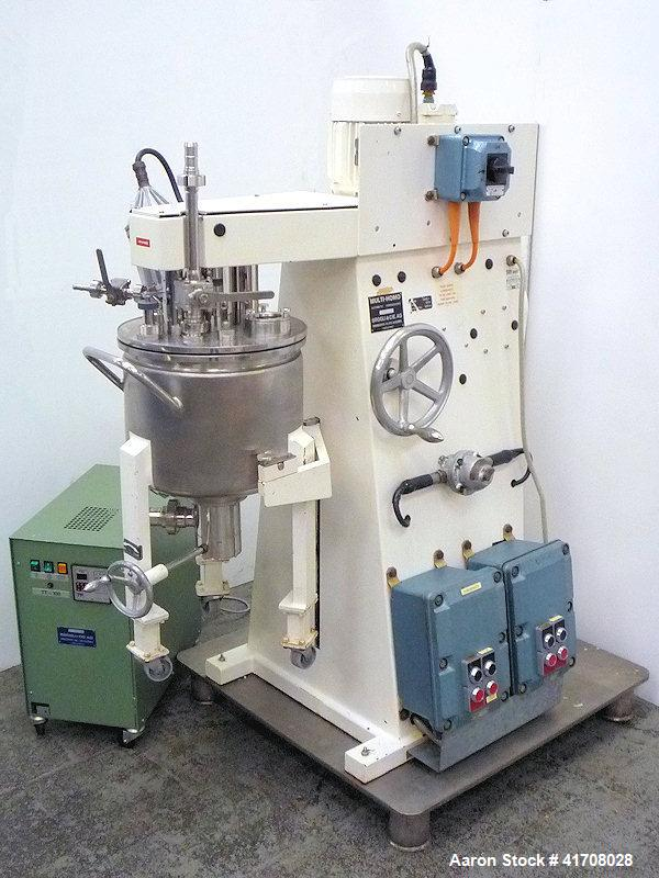 Used-Brogli Type MH 20 C Cream Manufacturing Plant, Batch capacity 0.7 cubic feet (20 liters)