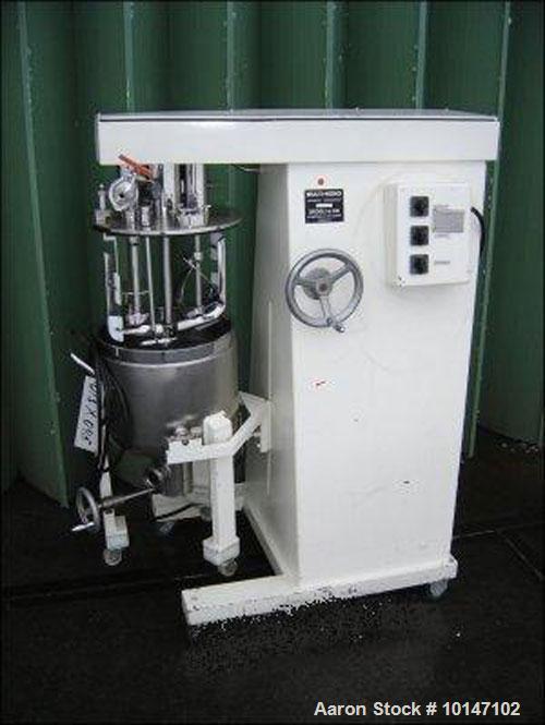 Used- Stainless Steel Brogli MH-300 C Mixer/Homogenizer
