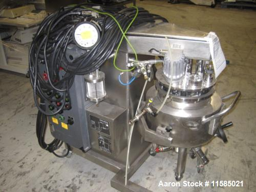 Used- Brogli Multi Homo Mixer. Stainless Steel contacts. Model Multi Homo, Type MH10C. 10 liter working capacity. 0.28 kw/0....