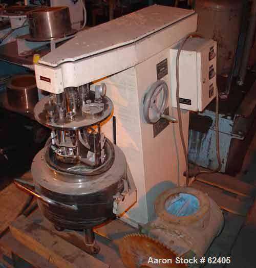 Used: Brogli & Cie AG multi homo mixer. Machine type: MH10C-2365