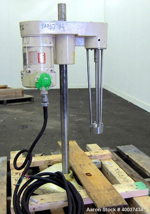Used- Stainless Steel Ross Mixer Emulsifier, Model ME100LX
