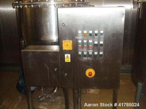 Used- Stainless Steel Giusti Scraped Surface Mixer