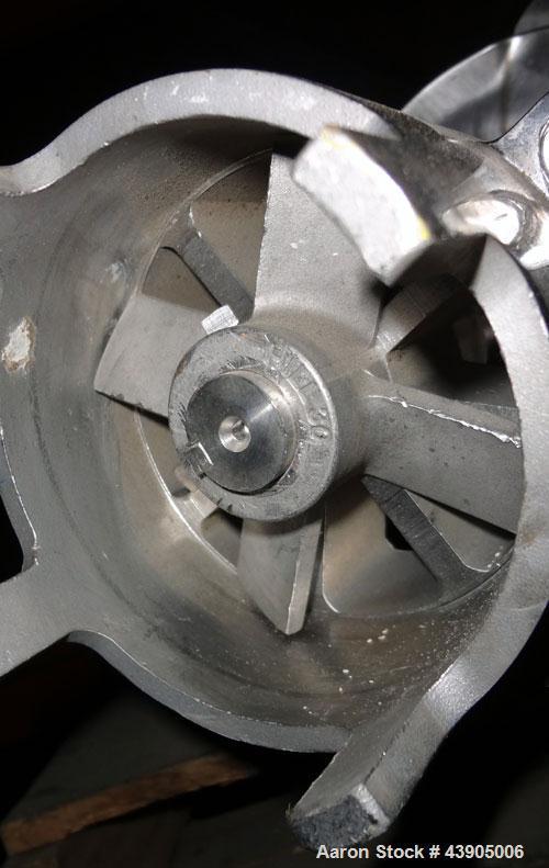 Used- Hill Homogenizer-Mixer, 100 Gallon Capacity, Model 7.5