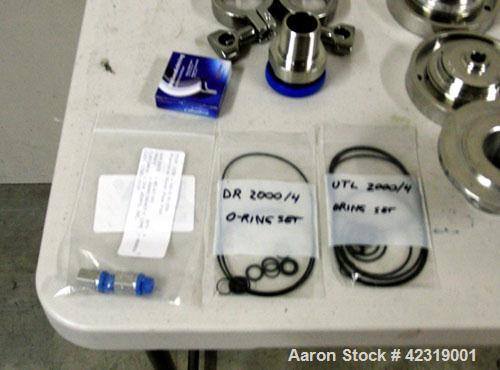 Used-IKA Lab-Pilot 2000-4 Basic Unit Stainless Steel with DR Module, 4M generator, radial lip seal, O ring set, FPM and scre...