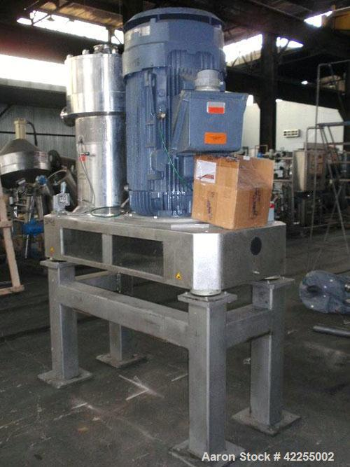 Used- Stainless Steel IKA DISPAX Three Stage Inline High Shear Pump, Model DR 2000/50