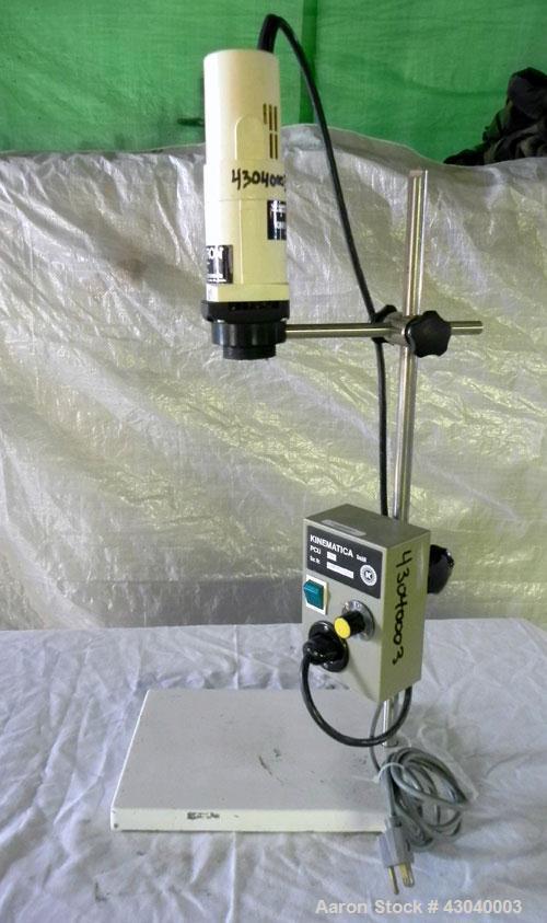 Used- Kinematica Polytron Laboratory Homogenizer Mixer Drive Only, Model PT10/35