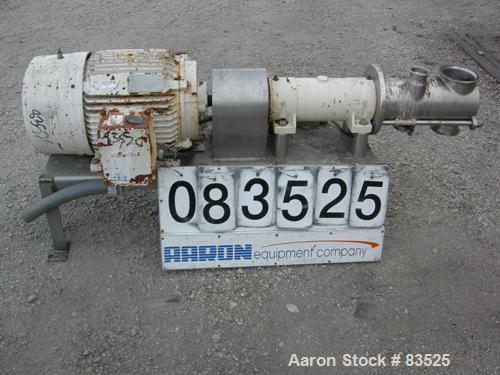 Used: Stainless Steel Koruma Inline Homogenizer, model DISHO IV/160, 30,000 liter per hour capacity