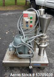 Used- Quadro, Model ZC-1, Ytron Blender. (Similar to Tri-Clover Tri-Blender). Sanitary stainless steel construction, driven ...