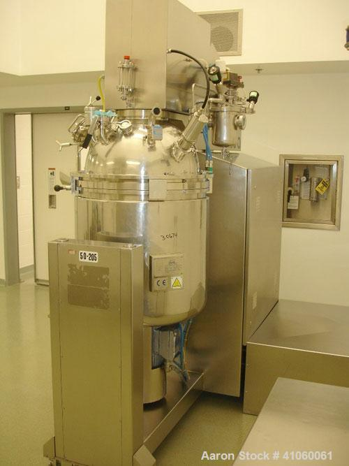 Used- Ross/Olsa Vacuum Mixer Homogenizer, Model MACEF PH 150. 30 to 150 liter working capacity, 190 total, 316L stainless st...
