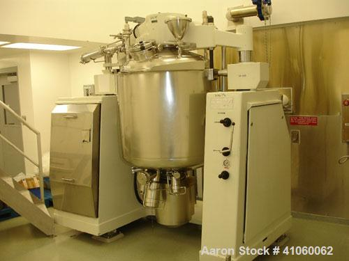 Used- Oskar Krieger Molto-Mat Universal Homogenizer Mixer, Model MMU 500, Stainless Steel. 110 to 500 liter working capacity...