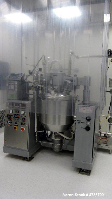 Used-O. Krieger-Molto-Mat-Universal Mixer/Homogenizer, Type MMU100. Stainless steel construction, polished on product contac...