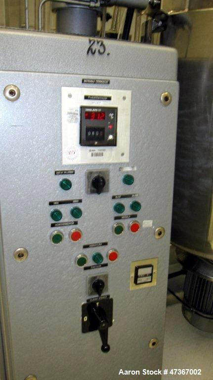 Used-O. Krieger-Molto-Mat-Universal Mixer/Homogenizer, Type MMU500. Stainless steel construction, polished on product contac...
