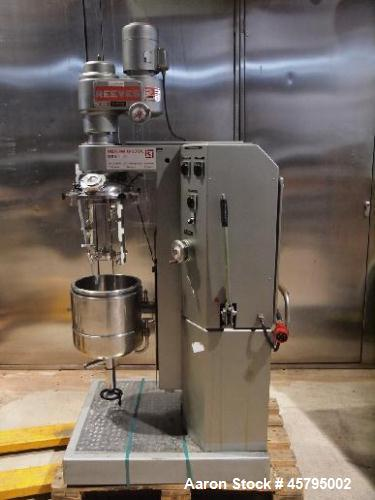 Used- Krieger Homogenizer Mixer, Model Moltomat MMU 20.