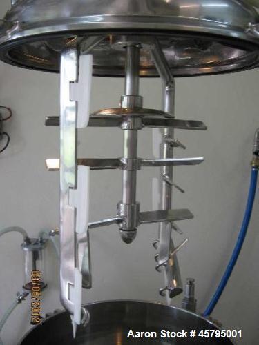 Used- Krieger Homogenizer Mixer.