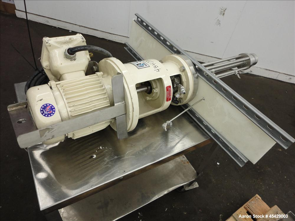Used- Stainless Steel Ross Hi-Shear Mixer, Model ME50