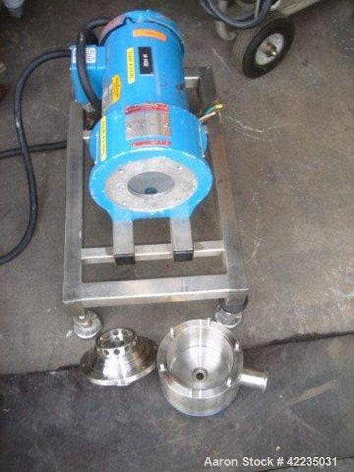 Used- Silverson Model 275LS High Shear Mixer. 2 hp motor, 230/460 volts, 60 hz, 3 ph. Requires rotor and shaft.