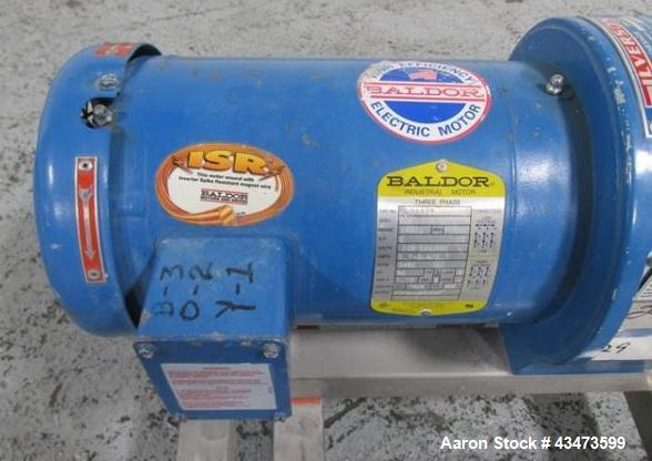 Used- Silverson In Line Mixer, Model 275.LS, Serial# 275LSB784.