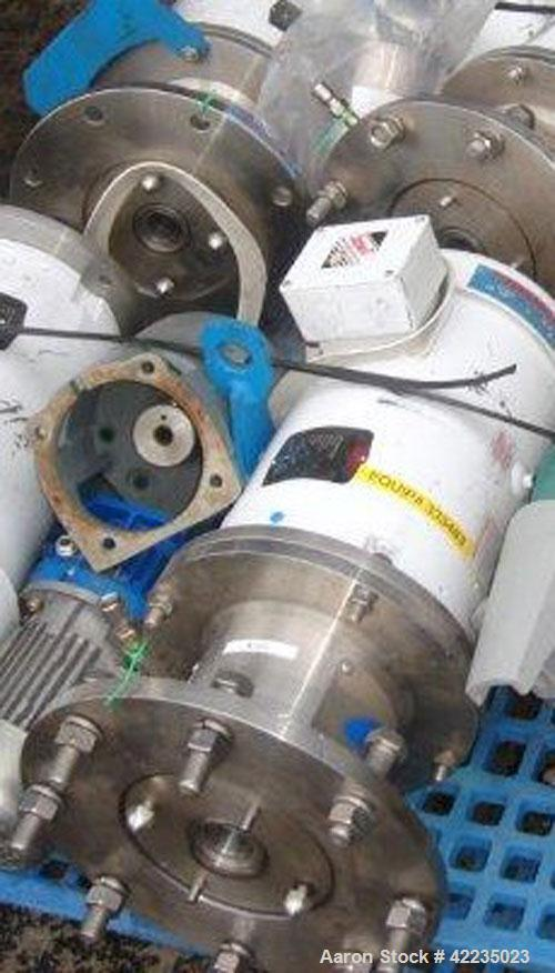 Used- Stainless Steel Silverson Batch Mixer Emulsifier, Model FX60