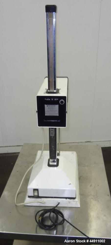 Used- Silverson Laboratory Batch Mixer Emulsifier, Model L4R, 316 Stainless Steel. Nominal speed range 8000 rpm, batch range...