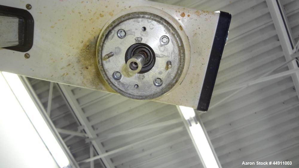Used- Silverson Laboratory Batch Mixer Emulsifier, Model L4R, 316 Stainless Steel. Nominal speed range 8000 rpm, batch range...