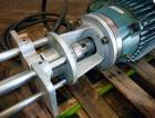 Used- Arde Barinco Style Homomixer, Model 3H, Stainless Steel.(4) Support posts, (1) shaft with mixing blade.4