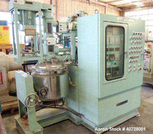 Used- Stainless Steel TK AGI Homo Mixer, model 30-50
